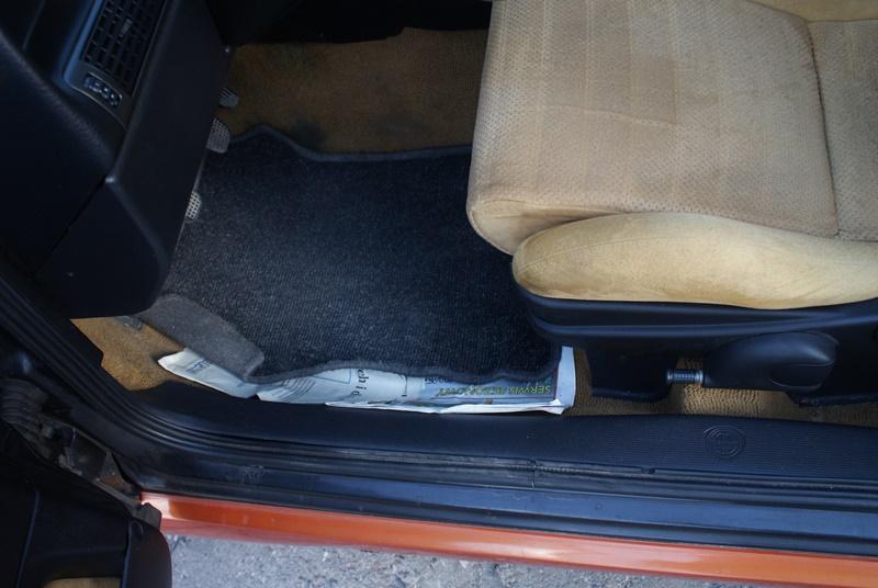 Sposoby na wilgoć w samochodzie